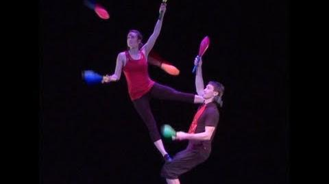 Acrobatic Juggling Performance (Bob and Trish)