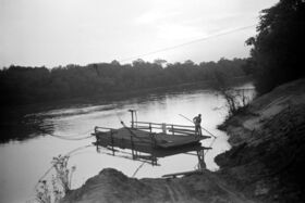 Greer's Landing cable ferry