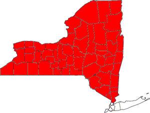 NY Map upstate