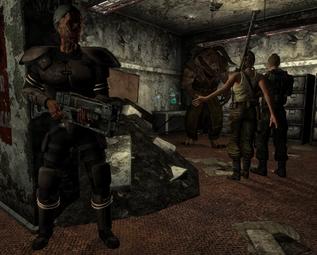 Salem Vault 14 Explorers Deathclaw