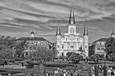 St. Louis Cathedral by Ron White (Jacksonia)