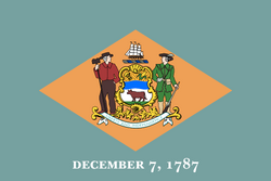 Flag of Delaware