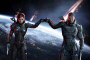 Mass Effect Fist Bump
