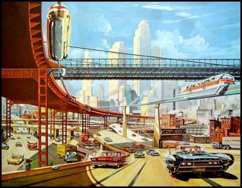 Retro-Futuristic, Pre-War America