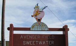 SweetwaterTXAvengerFieldWASPWWIIEntrance1207MPrice