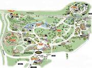 Memphis Zoo Map