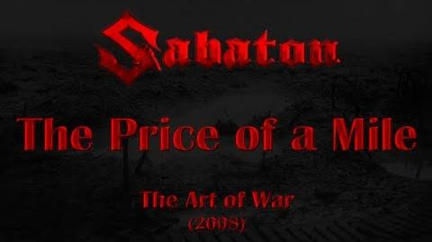 Sabaton - The Price of a Mile (Lyrics English & Deutsch)