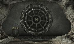 Vault 14 Entrance