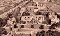 Tulane Campus c 1912 Air View
