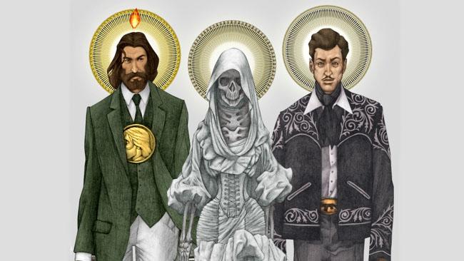 Esqueleto - Religious Saints