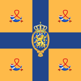 Dominion of Willemstad flag