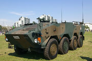 JGSDF APC Type 96 at JGSDF Camp Shimoshizu 02