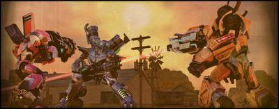 Goodsprings Laserfight