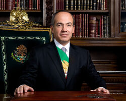 Esqueleto - Felipe Calderon (11-27-2006)