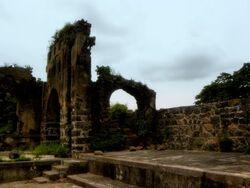 Fort Pen ruins