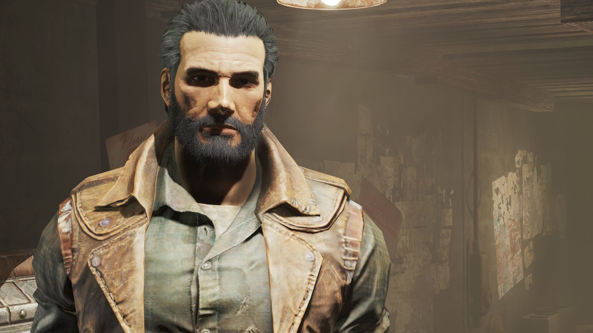 fallout 4 how to add beard