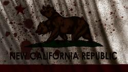 Bloody New California Republic Flag (Californo)