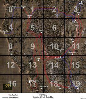 Fallout 2 map