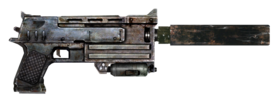 Silenced 10mm Pistol