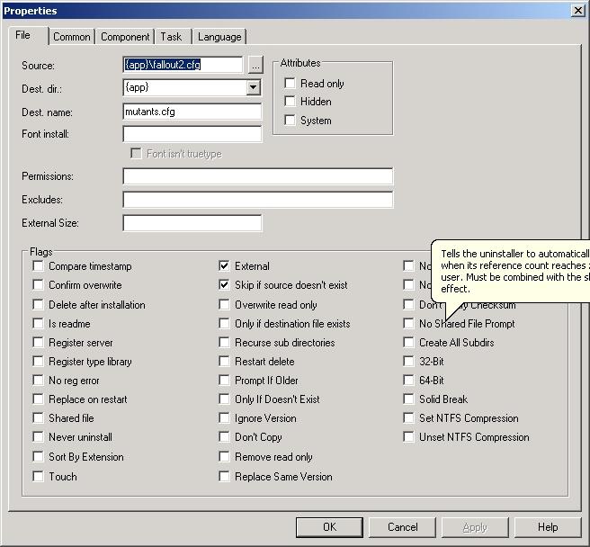 Creating an installer for your mod   Vault-Tec Labs   FANDOM