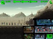 FalloutShelter ihmisjono