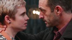 Peter Van den Bossche en Iris Massant