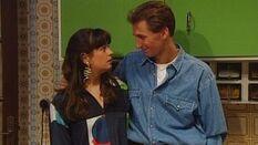 Marleen Van den Bossche en Ben Van der Venne