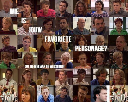 Wie is jouw favoriete personage?