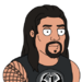Facespace portrait romanreigns