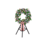 Decoration consolationWreath pink