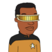 Facespace portrait geordilaforge