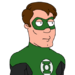 Fg facespace portrait GreenLantern