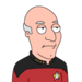 Facespace portrait picard