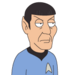 Facespace portrait spock