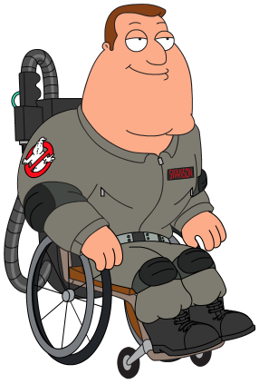 Image - Joeghostbuster.png   Family Guy: The Quest for Stuff Wiki ...