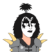 Facespace portrait KISS Genesimmons default