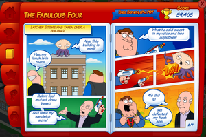quahog comic con family guy the quest for stuff wiki