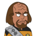 Facespace portrait worf