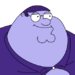 Facespace portrait petergriffin blueberry