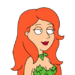 Facespace portrait poisonivy