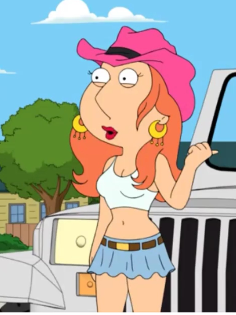 Image - Midlife crisis Lois in show.jpg | Family Guy: The