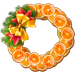 FragnantFruitWreath
