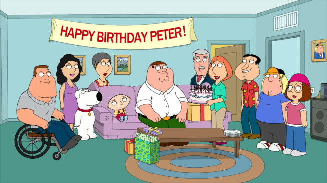 Baby you knock me out family guy wiki fandom powered by wikia on his birthday joe gives peter a globe which he is reluctant to receive even cleveland sent a card to peter although bookmarktalkfo Gallery