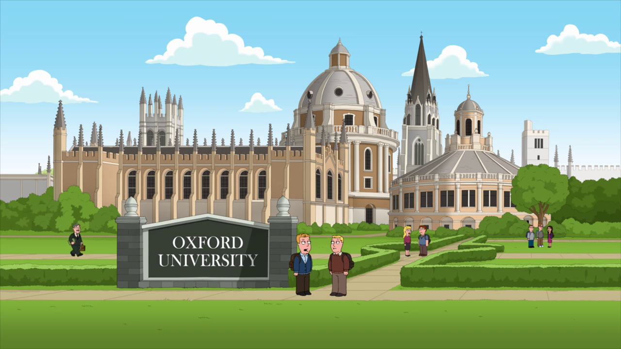 University Of Oxford Family Guy Wiki FANDOM Powered By Wikia - Where is oxford located