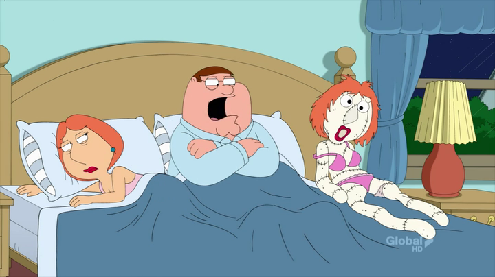 Sock Lois Is Peters Surrogate When Lois Isnt In The Mood For Sex