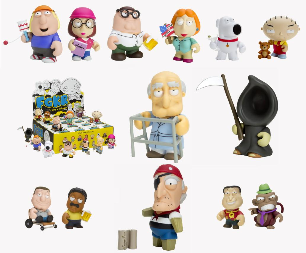 """Kidobot Family Guy Series 1 Chris 3/"""" Blind Box"""