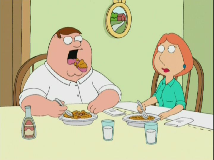 Family Guy Dried Food