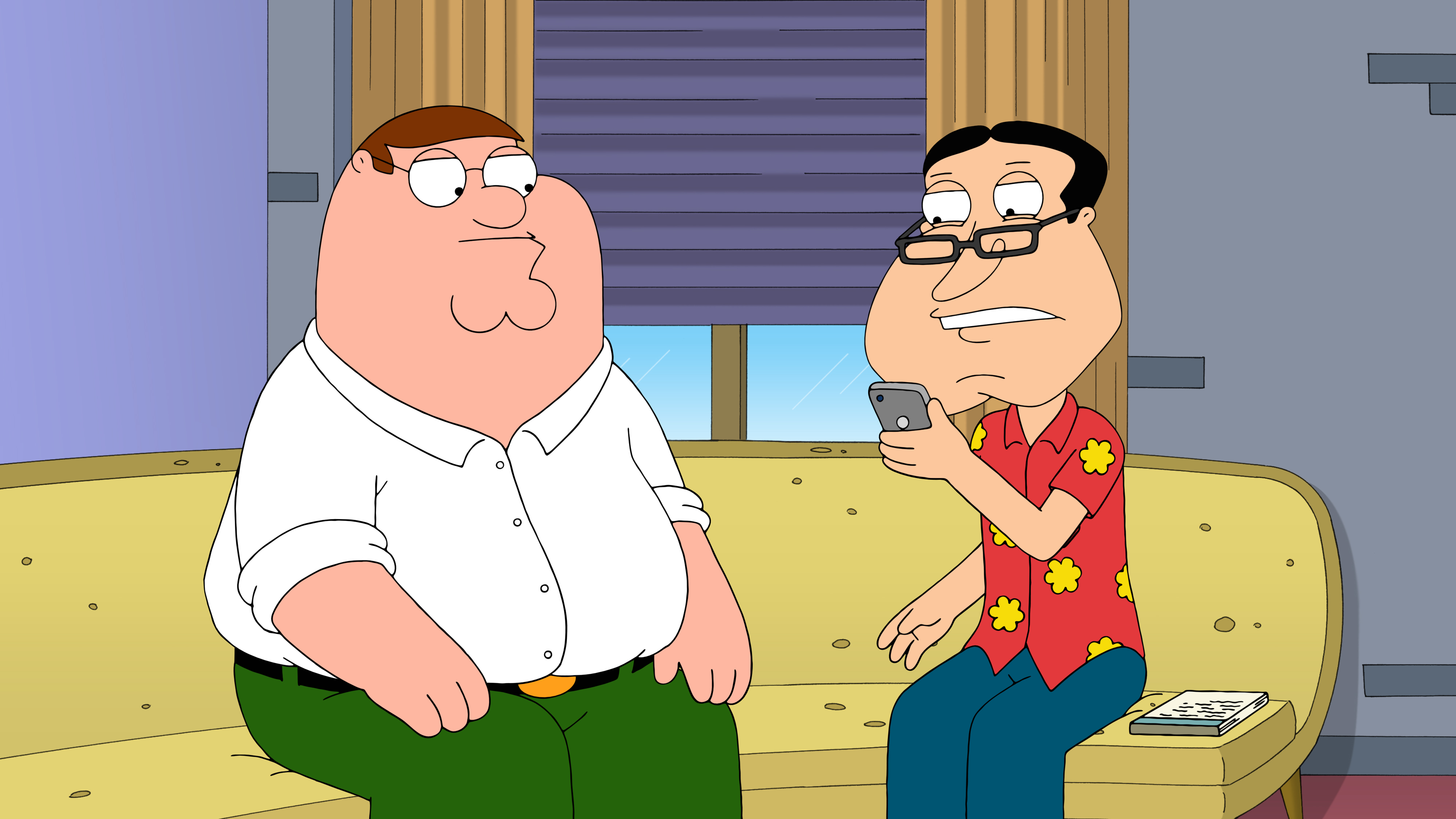 Al Harrington dating Family Guy
