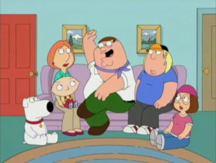 Family guy family gay