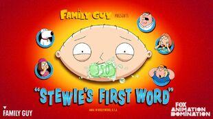 Stewie's First Word